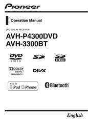 PIONEER AVH-3300BT OPERATION MANUAL Pdf Download   ManualsLibManualsLib