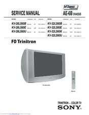 Sony Fd Trinitron Kv 32fq86e Manuals Manualslib