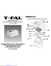 T-FAL MAXI PRO 3383 Instructions For Use Manual