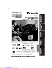 Panasonic PV-D4733 PV-D4733S owners manual user operating instructions