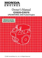 Honda GX670-VXC2 Manuals | ManualsLibManualsLib