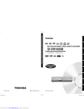TOSHIBA D-VR16SB Owner's Manual