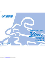 Yamaha VINO YJ50RS Owner's Manual