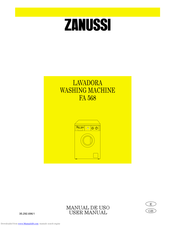 ZANUSSI FA821 User Manual