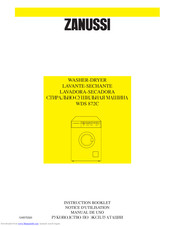 ZANUSSI WDS872C Instruction Booklet