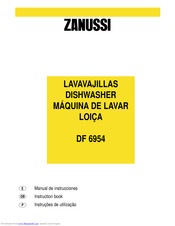 ZANUSSI DF 6954 Instruction Book