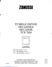 ZANUSSI TCE 7224 Instruction Booklet