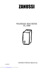 ZANUSSI TL1000 Instruction Manual
