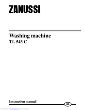 ZANUSSI TL543C Instruction Manual