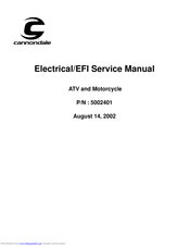 [TBQL_4184]  CANNONDALE 5002401 SERVICE MANUAL Pdf Download | ManualsLib | Cannondale Atv Wiring Schematic |  | ManualsLib
