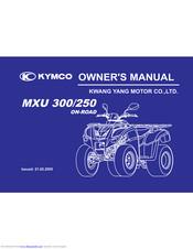 Kymco Mxu 250 Manuals Manualslib