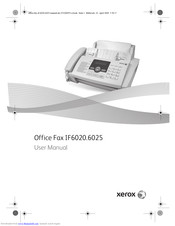 Xerox IF6020 User Manual