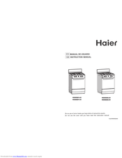 haier KGG5201-A1 Instruction Manual