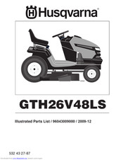 Husqvarna 96043009000 Illustrated Parts List