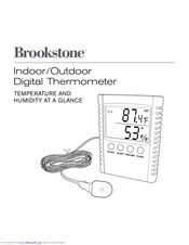Brookstone Indoor/Outdoor Digital Thermometer User Manual