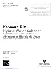 water softener wiring schematic kenmore 625 385200 manuals manualslib  kenmore 625 385200 manuals manualslib