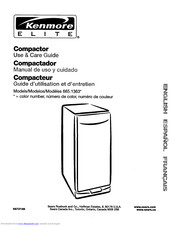 Kenmore 665.1363 Use & Care Manual