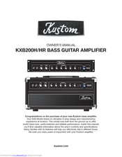 Kustom KHS6640 Six Zone Amplification System Six-Channel Audio Amplifier
