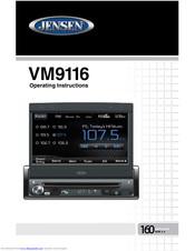 JENSEN VM9116 OPERATING INSTRUCTIONS MANUAL Pdf Download. on jensen wiring adapter, jensen speaker, jensen power harness, jensen radio harness, touch screen receiver bv9965 wire harness, jensen remote control,