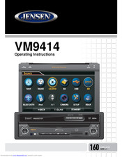 Jensen VM9414 Manuals on jensen radio parts, jensen wiring harness, jensen vm9510ts, jensen car, jensen vm9424, jensen vm, jensen replacement wire harness,