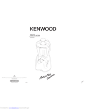Kenwood Smoothie Concert SB250 series Instructions Manual