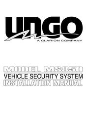 CLARION UNGO MS850 INSTALLATION MANUAL Pdf Download   ManualsLibManualsLib