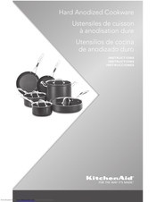 KitchenAid Hard Anodized Cookware Instructions Manual