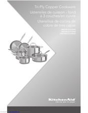 KitchenAid KCP80SCCP Instructions Manual