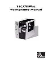 Zebra 110xiiii Plus Series Maintenance Manual Pdf Download Manualslib