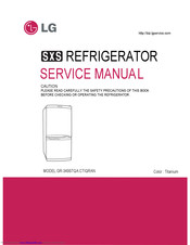 LG GC-349 Service Manual