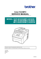 Brother MFC-9325CN Service Manual