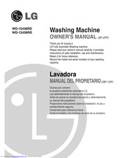 LG WD-12436RD Owner's Manual