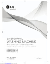 LG F14B8TDW8 Owner's Manual