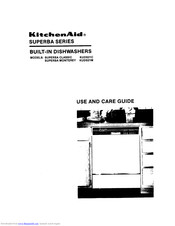 KitchenAid Superba Monterey KUDS21M Use And Care Manual