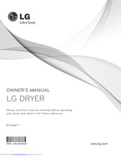 LG RC7066 Series Owner's Manual