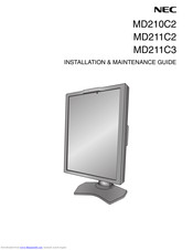 NEC MD211C2 Installation & Maintenance Manual