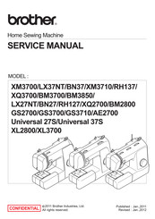 Brother GS3710 Service Manual