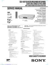 Sony SLVN50  Video Cassette Recorder Manuals