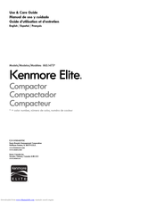 Kenmore 665.1473 series Use & Care Manual