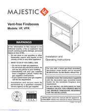 Majestic Vf Installation And Operating Instructions Manual Pdf