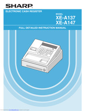 Sharp XE-A137 Thermal Cash Register Till Receipt Rolls Sharp XEA137 XEA-137 137