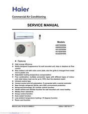Haier AS072XVERA Service Manual