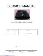 Optoma EX605ST Manuals