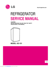 LG GC-151 Service Manual