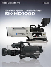 Hitachi CU-HD1000 Brochure & Specs