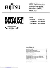 fujitsu abu18rulx manuals