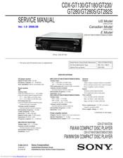 [DIAGRAM_34OR]  SONY CDX-GT180 SERVICE MANUAL Pdf Download | ManualsLib | Wiring Diagram Sony Drive S |  | ManualsLib