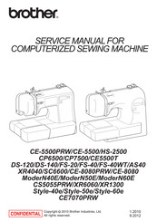 Brother ModerN60E Service Manual
