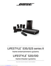BOSE LIFESTYLE 535 SETUP MANUAL Pdf Download | ManualsLibManualsLib