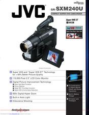 Jvc Gr Sxm240u Brochure Specs Pdf Download